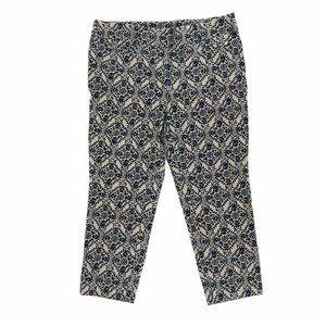 Ann Taylor Loft Womens Ankle Pants Blue Petites 8P